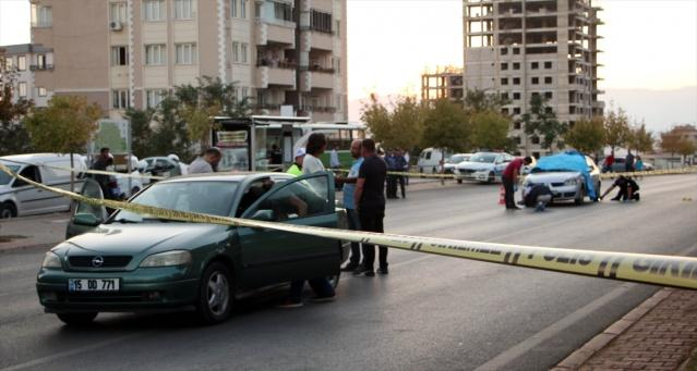 Kahramanmaraş'ta, nişanlısı olduğu ileri sürdüğü kadının eski kocasını öldüren kişi gözaltına alındı.