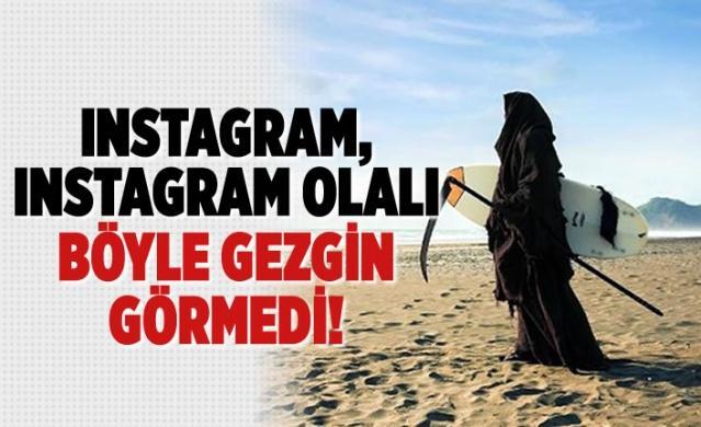 Instagram'ın fenomen gezgini: Ölüm Meleği