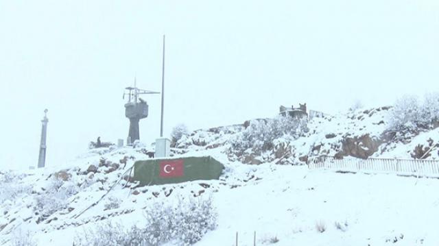 Koordinatları saptanan muhtemel geçiş yolları, uçaksavar ve hava savunma topları ile ateş altına alındı.