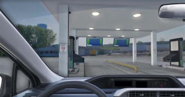 Benzin istasyonları iyiden iyiye akıllandı. Arabayla istasyona yaklaşınca artık bakın ne görmeye başladık?