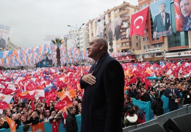 Türkiye Cumhurbaşkanı Recep Tayyip Erdoğan, Kahramanmaraş Müftülük Meydanı'nda düzenlenen mitingde halka hitap etti.