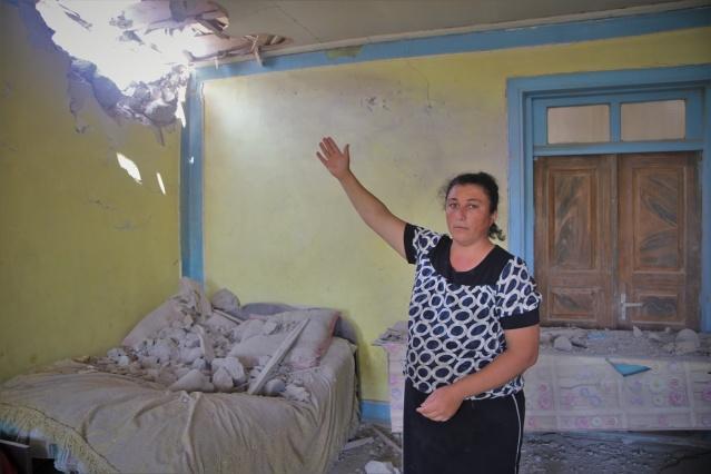 Saldırgan Ermenistan'ın Azerbaycan'a gerçekleştirdiği alçak saldırıların bilançosu görüntülendi.