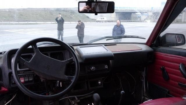 Baba yadigarı 1996 model aracını off-road cipine çevirdi, görenler şaşkına döndü.