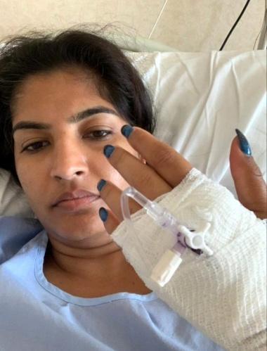 Suyun şiddeti nedeniyle Monu Bhagat'ın vajinasında 8 santimlik bir yırtılma meydana geldi. Vajinasında oluşan yırtığın yanı sıra ayaklarında sürtünme nedeni ile yaralar oluştu.