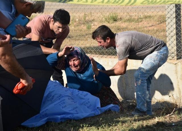 Güvenlik güçleri, olay yerinden kaçan sürücünün kimliğinin belirlenip, yakalanması için çalışma başlattı.