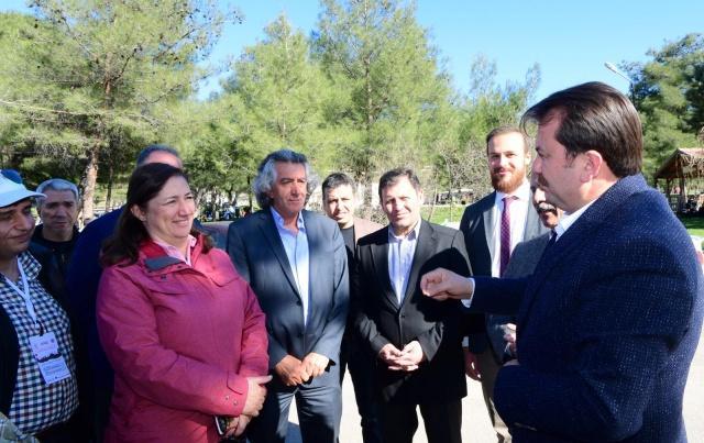 Kahramanmaraş Büyükşehir Belediyesi ve Türkiye Oryantiring Federasyonu işbirliği ile Kahramanmaraş'ta iki gün boyunca devam edecek Kahramanmaraş Oryantiring Yarışması başladı.
