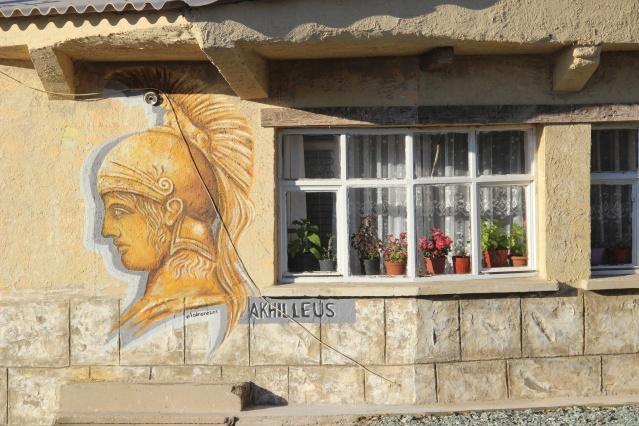 Çanakkale merkeze bağlı Tevfikiye köyü, Troya dönemini yaşatan arkeo-köye dönüştürüldü.