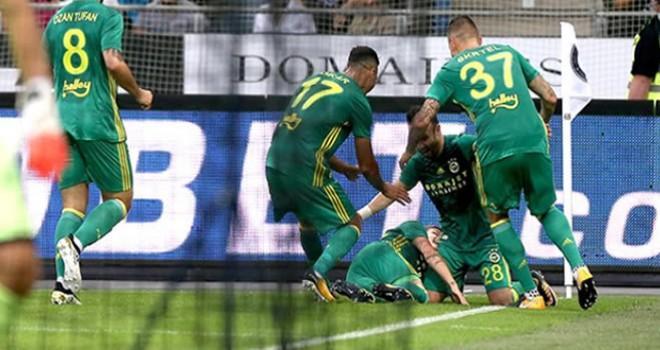 Fenerbahçe, tur kapısını sonuna kadar açtı