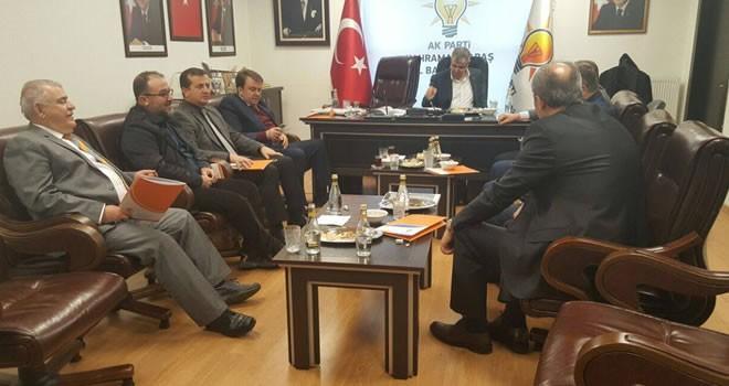 Başkan Bozdağ, Kahramanmaraş'taki istişare toplantısına katıldı
