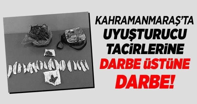 Kahramanmaraş'ta uyuşturucu tacirlerine geçit yok!