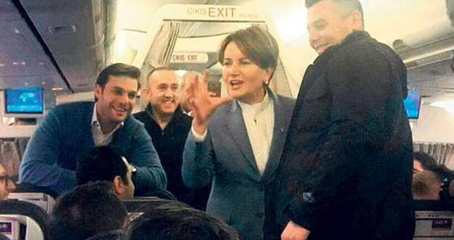 Taraftarlar istedi, Meral Akşener kırmadı!