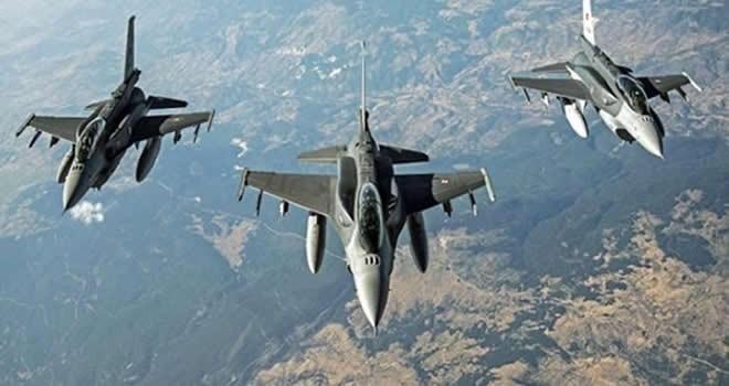 TSK duyurdu! Savaş uçakları Kuzey Irak'a havalandı