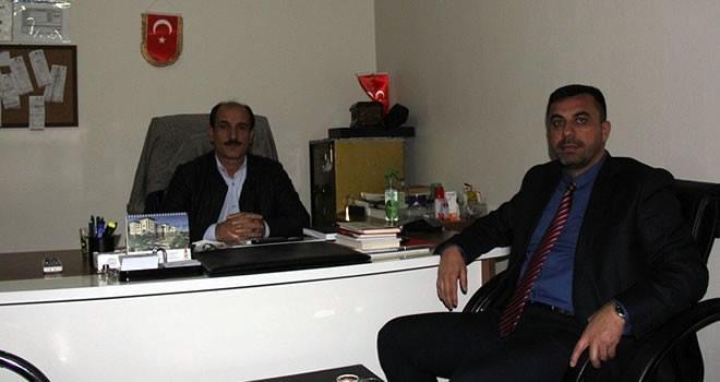Büyükşehir Belediye Meclis Üyesi Kılıç'tan Kanal Maraş'a ziyaret