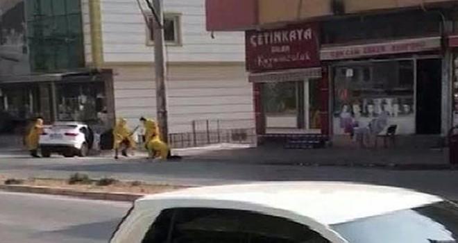 Mersin'de soygun girişimi: Bozguna uğradılar!