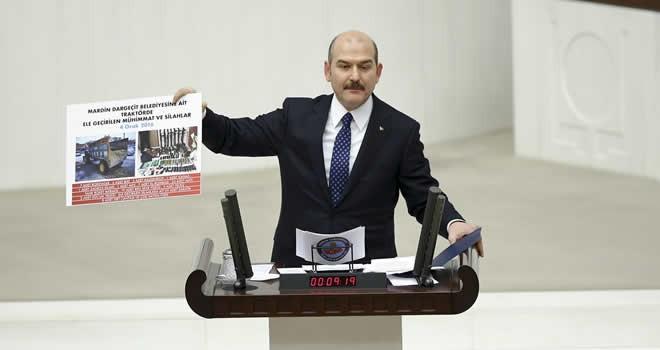 Bakan Soylu'dan HDP'ye gensoru tepkisi