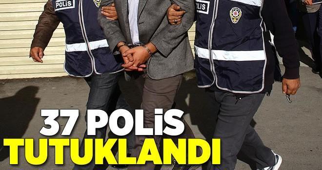 Gaziantep'te ByLock'çu 37 polis tutuklandı