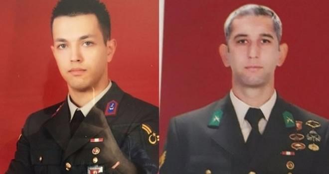 Kaybolan 2 asker şehit oldu