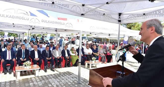 Dulkadiroğlu'ndan Şerefoğlu'na dev sosyal tesis