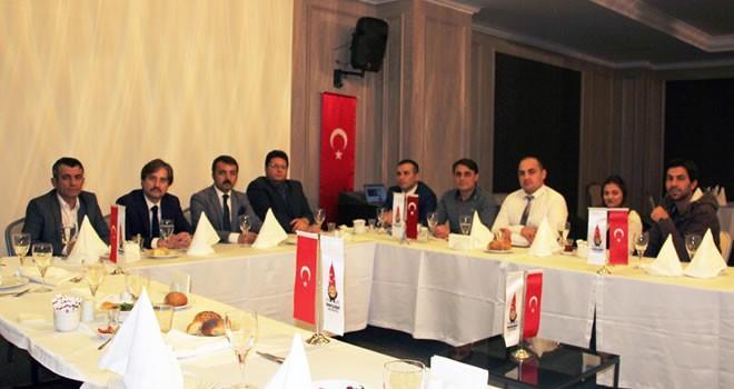 Basın müdürleri, Onikişubat Belediyesi ev sahipliğinde bir araya geldi