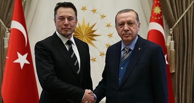 Dünyaca ünlü iş adamı Elon Musk Beştepe'de