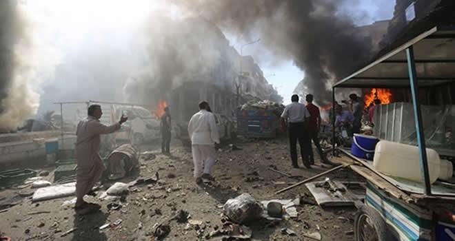 İdlib'te hava saldırısı! Çok sayıda ölü var