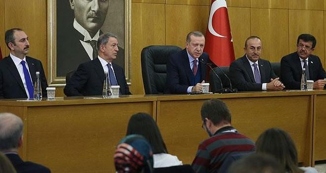 Erdoğan'dan sert tepki: ''Askerlerinizi çekin!''