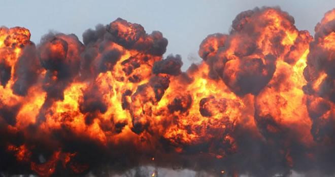 Büyük patlama! En az 100 ölü...