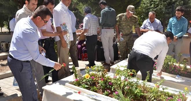 15 Temmuz şehidi Niyazi Ergüven mezarı başında anıldı
