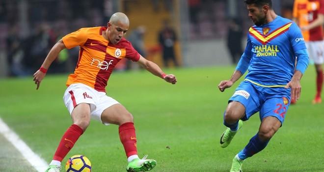 Süper Lig'de Galatasaray, Göztepe'yi 3-1 yendi