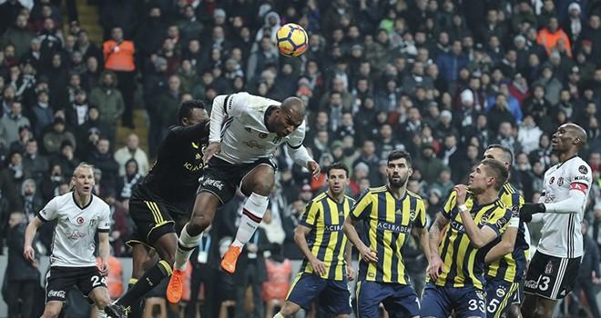 Beşiktaş: 3 - Fenerbahçe: 1 (Maç Sonucu)