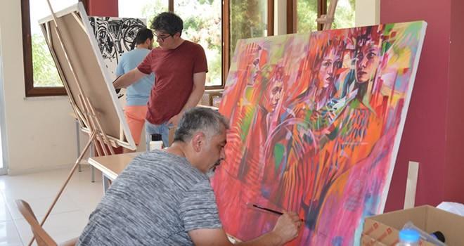 '2. Uluslararası Sanat Çalıştayı' Türkoğlu'nda başladı