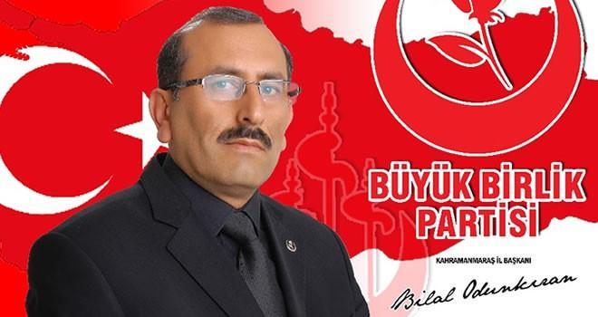 Büyük Birlik Partisi (BBP) Kahramanmaraş İl Başkanı belli oldu
