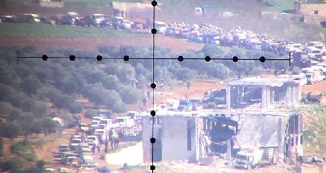 Afrin'den kaçışlar başladı !