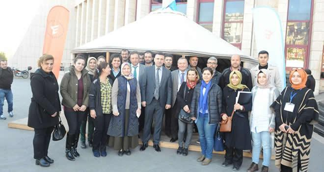 Türk Halkları Geleneksel Oyunları Sempozyumu başladı