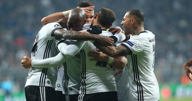 Beşiktaş Avrupa'da tarih yazdı!