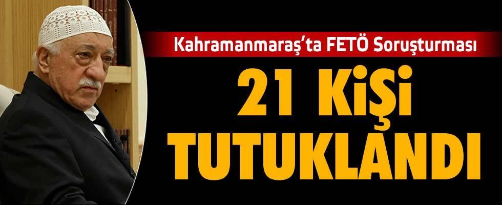 12 ilde FETÖ operasyonu: 21 tutuklama
