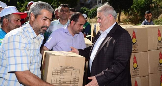 Onikişubat Belediyesi'nden Mardin'e 'Yardım Eli'