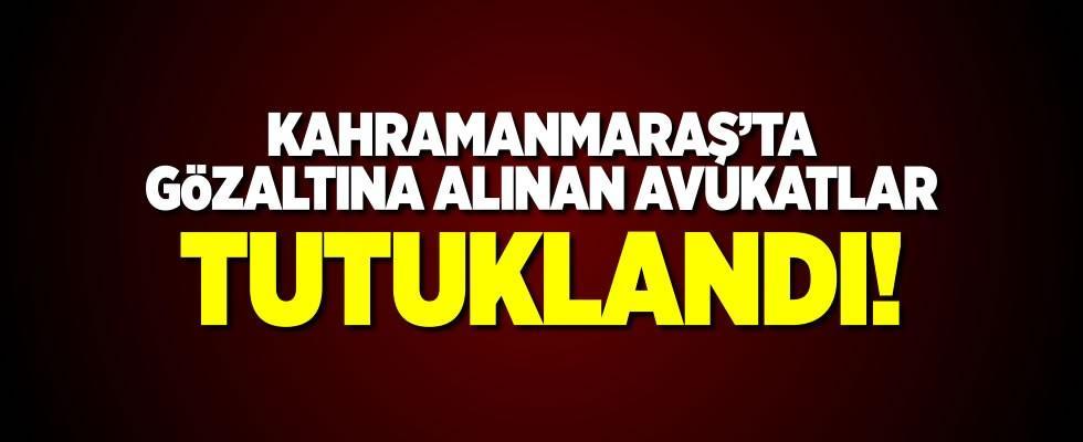 Kahramanmaraş'ta avukatlara yönelik FETÖ soruşturması: 6 Tutuklama