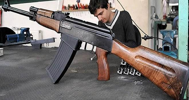 Kalaşnikof Modelli Yivsiz Av Tüfeği Üretildi !