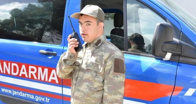 Başkan Okumuş, Ahmet Can'ın asker olma hayalini gerçekleştirdi