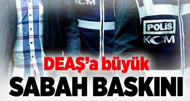 İstanbul'da DEAŞ'a sabah baskını!