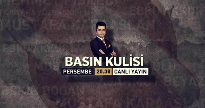 'Basın Kulisi' perşembe günü Aksu TV'de