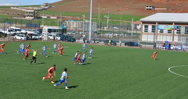 Türkoğlu Belediyespor-Pazarcık Aksuspor maç sonucu: 2-1