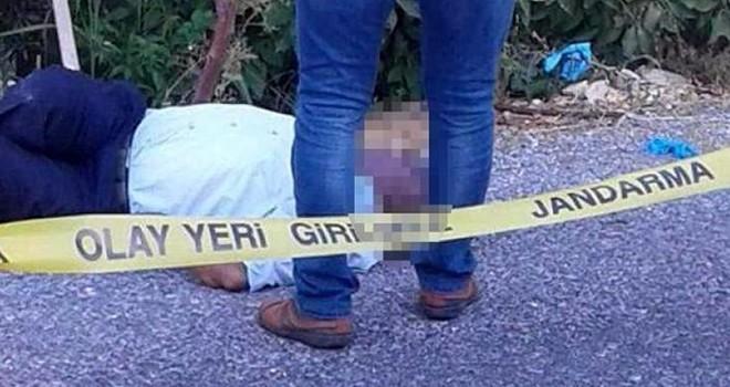 Mersin'de yol kenarında erkek cesedi bulundu