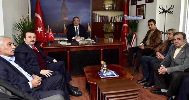 Başkan Erkoç'tan MHP'ye iade-i ziyaret