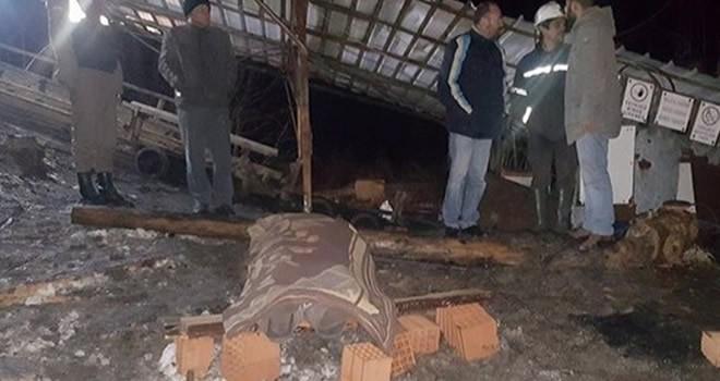 Bir maden ocağı daha göçtü: 1 ölü