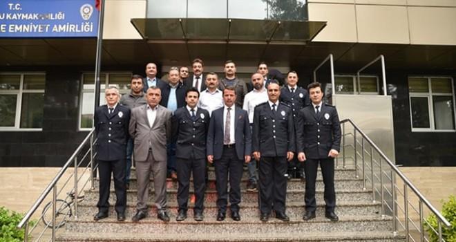 Başkan Okumuş; Polislerin polis haftasını kutladı!