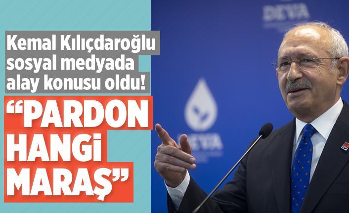 Kemal Kılıçdaroğlu bu sözleriyle alay konusu oldu!