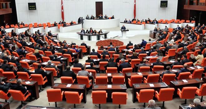 Anayasa değişiklik teklifinin 3. maddesi kabul edildi