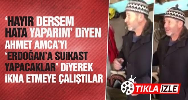 Semerci Ahmet Amca'dan 'Hayır'cılara tokat gibi yanıt!